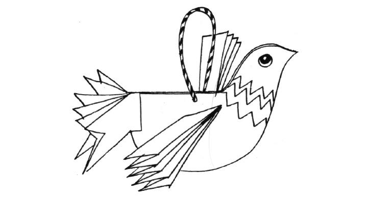 Практичні заняття. Як зробити пташку