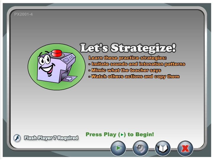 Learning Strategies Object 1 Practice New Words, Sounds, and Gestures