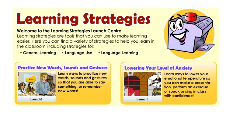 Learning Strategy Launch Centre
