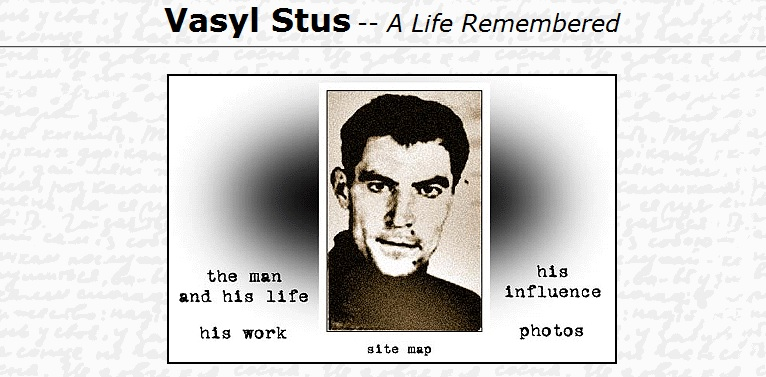 Vasyl Stus - A Life Remembered